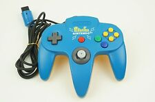 Nintendo 64 Pokemon Pikachu Blue Yellow Controller N64 Japan USED