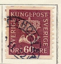 Sweden 1920-25 Early Issue Fine Used 60ore.  118402