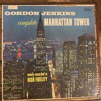 Gordon Jenkins Complete Manhattan Tower LP Vinyl Record Album 1970s
