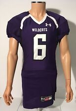 Northwestern Wildcats Official College UA Football Jersey W/ Pants Sz Large
