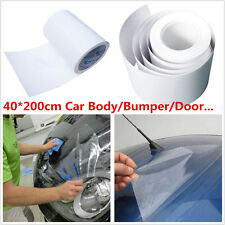 Car Body Paint Protection Anti-Scratch Anti-Static Clear Film Vinyl Sheet 40*200