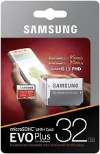 MEMORIA MICRO SD 32GB SAMSUNG EVO+ CLASE 10