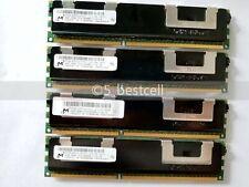 16GB 4x 4GB DDR3 Micron DIMM 1066 MHz PC3-8500R 2RX4 ECC REG Server Memory Ram