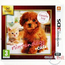 Jeu Nintendogs + Cats Caniche Toy Selects [VF] Nintendo 3DS NEUF sous Blister