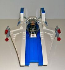 Lego Star Wars 75003 A-Wing Fighter in Blue & White Rebels TV Series New Parts