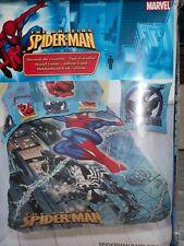 PARURE SPIDERMANN EN COTON -140X200-NEUF TRES SYMPA !!!