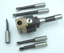 Soba 75 mm Milling Boring Head Set Metric R8 1711440 From Chronos Bridgeport