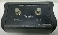 Genuine Fender MS2 2-Button Programmable Footswitch Mustang Series III IV V Amps