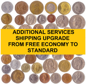 SHIPPING UPGRADE FROM FREE ECONOMY TO STANDARD WITH A TRACKING NUMBER