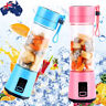 Fruit Juicer Shaker Bottle Electric Juicer Smoothie Maker Blender Portable USB