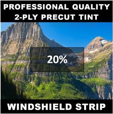Ford Econoline Van Windshield tint strip precut 20% darkness (Year Needed)