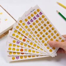 12 sheet  Mini expression  diary calendar card Scrapbooking decoration stickers