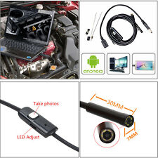 Auto SUV Engine Tank Oil Pump 7mm Android Endoscope Borescope Inspection Camera