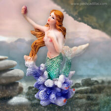 Ocean Sea Mermaid Fairytale Romantic Gorgon Figurine Decor Display Statue Rare