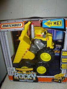 Brand New Matchbox Rocky Interactive Robot Dump Truck Original, not Re-Issue
