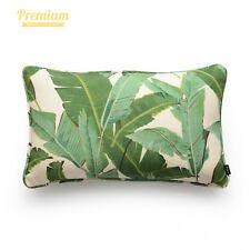 Hofdeco Premium Decorative Cushion Lumbar Pillow Cover Heavy Weight Cotton Linen