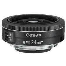 Canon EF-S 24mm f/2.8 STM Lens for Canon - Black