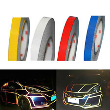 1cm 5m Reflective Fluorecent Tape Film Car Vehicle Push Bike Tint Strip Stickers