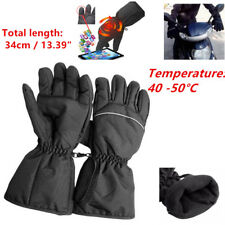 2Pcs Powered Heated Gloves Electric Hands Warming for Outdoor Skiing Motorcycle