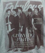 One Direction Hoodie Boy Band Size Medium Green Hoodie Pullover Sweatshirt