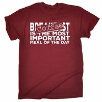 Coffee Most Important Meal Of The Day MENS T-SHIRT Tee funny birthday gift