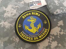 """SNAKE PATCH - écusson TDM """" 2ème RIMa """" troupes de Marine FRANCE opex MARSOUIN"""