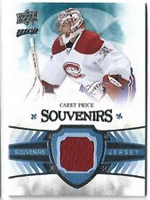 2014-15 MVP Souvenirs Jersey Carey Price Group B 1:130