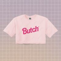 Butch Crop Top Cute Pride Doll Belly, Gay LGBT Queens Masc Daddy BTM