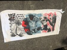 Vintage 1999 Stone Cold Steve Austin KANE Mankind Rock Beach Towel WWE WWF