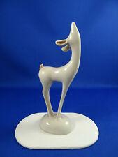 Vintage Roselane Art Deco Deer Figurine Pasadena California Art Pottery