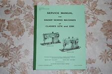 Professional Full Edition Service Manual Singer 327 327K 328 328K Sewing Machine