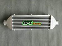 """Universal Aluminum turbo Intercooler 430X300X70MM Inlet/ Outlet 3"""" Tube&Fin GPI"""