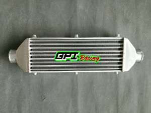 "Universal Aluminum turbo Intercooler 430X300X70 Inlet/ Outlet 3"" Tube&Fin"