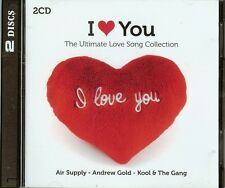 I LOVE YOU - THE ULTIMATE LOVE SONG COLLECTION - 2 CD SET - 32 SONGS - NEW