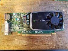 NVIDIA Quadro 600 1GB DDR 3 128 Bit Graphics Card