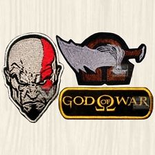 God of War Patches Set Kratos Athena PS Ascension Series 1 2 3 4 Embroidered