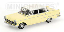 Minichamps - 1959 Opel Kapitaen - White / Yellow - 1:43 #430 040006 NEW
