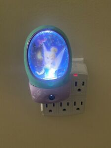 Disney Fairies Tinkerbell Energizer LED Night Light - Light Blue & Purple