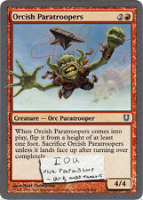 Orcish Paratroopers X 4 from Magic the Gathering Unhinged Set NM-Mint Condition