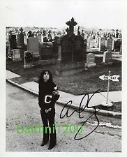ALICE COOPER SIGNED 10X8 PHOTO, GREAT STUDIO IMAGE, LOOKS GREAT FRAMED