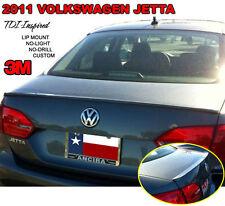FITS VW JETTA 2011-2014 LIP STYLE REAR TRUNK SPOILER PAINTED (P)