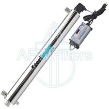 Sterilight S2Q-OZ Ozone generator water filter system for spas