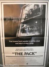 Cinema Poster: PACK, THE 1977 (One Sheet) Joe Don Baker Hope Alexander-Willis