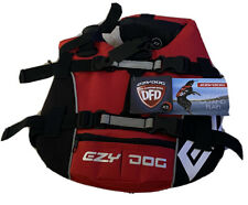 Ezydog DFD Vest Dog Flotation Device Life Jacket Red XS 3m Reflective