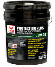 SYNTHETIC BLEND -TRIAX PROTECTION PLUS 5W-30 SN WITH MOLY - 5 GAL PA