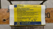 fp221r square D fusible 30 amp disconnect