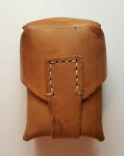 Vintage Leather Ammo Pouch M 48 Mauser Yugoslavia peoples army JNA SFRJ