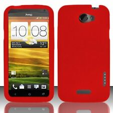 Silicone Skin Case for HTC One X - Red