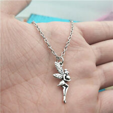 Butterfly Fairy Necklace,Silver handmade necklace,Fashion charm jewelry pendants