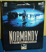 Discovery's Normandy: The Great Crusade PC CD-Rom